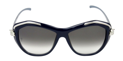 Cartier Panthère Wild Blue Cat Shape Women Sunglasses T8201075