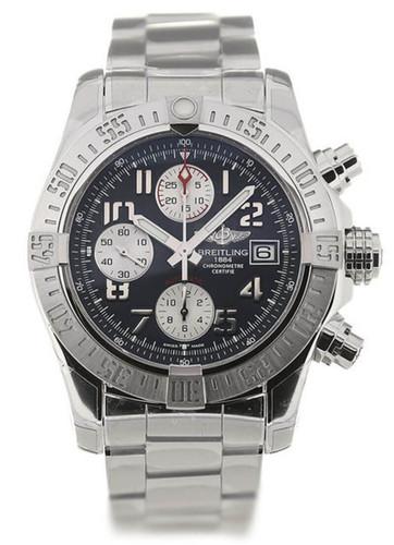 Breitling Avenger II 43 Blue Dial Chrono Men Watch A1338111/C870/170A