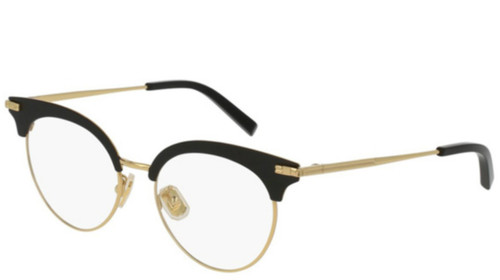 Boucheron Black Acetate Round Optical Frame Eyewear BC0040O-001