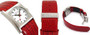 Mondaine A658.30320.26SBC Railways Evo Sq. Women's Red Leather Watch