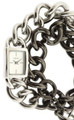 DKNY White Dial Two-toned 2 Chains Bracelet Women's Watch NY8237