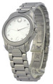 Movado 0606696 Moda 8 Diamonds Women's White Mother of Pearl Watch