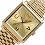 Marc by Marc Jacobs MBM3259 Truman 30mm Square Gold-tone Watch