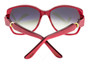 Cartier Trinity Brenice 55mm Red Composite Frame Sunglasses T8200914