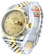 Rolex Datejust 36 Oyster Perpetual Champagne Dial Men's Watch 116233