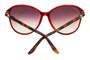 Cartier Double C Décor Tortoiseshell 60/16 Women's Sunglasses ESW00103