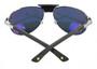 Cartier Santos Wood Pilot Polarized Lens Men's Sunglasses T8200864