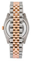 Rolex Datejust 36mm Pink Jubilee Dial DIA Fluted RG Men's Watch 116231