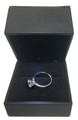 14K White Gold 0.72Ct RD Brilliant Diamond VS2 F Solitaire Bridal Ring