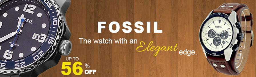 'Fossil Watch' Banner Logo
