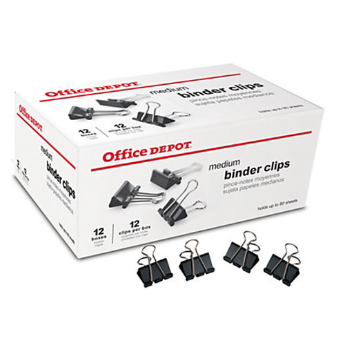 Office Depot® Brand Binder Clips