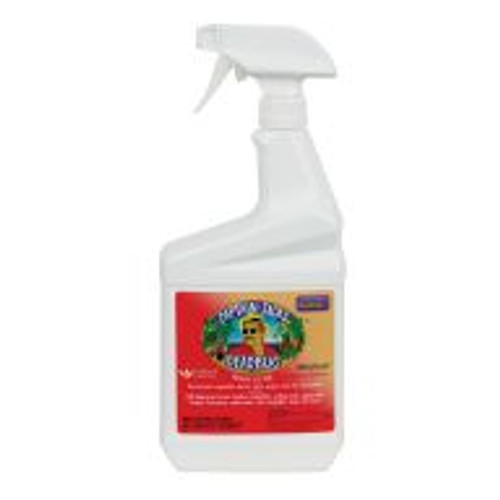 Captain Jack's Deadbug Brew is a Spinosad-based insecticide spray that takes advantage of the unique bacterium's pest control properties to effectively control bagworms, borers, beetles, caterpillars, codling moth, gypsy moth, loopers, leaf miners, spider mites, tent caterpillars, thrips and more. Also available in concentrated form.