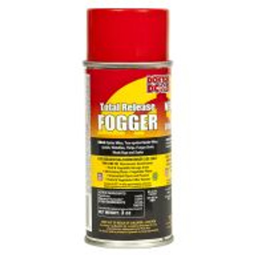 """Direct gardeners who want to get rid of garden pests to the Doktor Doom Total Release Fogger. The active ingredient, pyrethrin, is derived from chrysanthemums and proven to successfully control spider mites, aphids, whiteflies, fungus gnats, and more. When used as directed, this fogger is safe for use in greenhouses and indoor gardens, around all plants including fruits, vegetables, and ornamentals. The 3-ounce can treats a 3,000 cubic foot area. For application information, visit <a href=""""http://www.doktordoom.com/php/application_tips.php?lang=English"""" target=""""blank"""">http://www.doktordoom.com/php/application_tips.php?lang=English</a>"""
