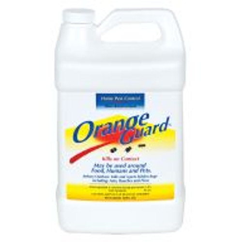 Orange Guard RTU pest repellant is an EPA-registered pesticide that repels ants, fire ants, roaches, fleas, silverfish, aphids, spider mites, leaf hoppers, scale insects, and even more insect pests with the fragrance of ingredient d-Limonene. This ingredient (more commonly known as orange peel extract) will also kill insects when applied directly by destroying the wax coating on their respiratory system. Orange Guard can be used indoors or out on countertops, plants, or even pet bedding and carpet as a safe, natural pre-wash for fleas.
