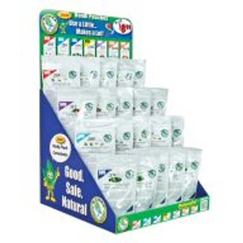 The SNS Pouch Starter Pack includes 20 pouches of natural plant-care products. The Pack comprises a display case and five pouches each of 4-ounce SNS 203 Pesticide Concentrate, 2.5-ounce SNS 209 Systemic Pest Control Concentrate, 1.5-ounce SNS 217C Mite Control Concentrate and 4-ounce SNS 311 Plant and Vegetable Wash.