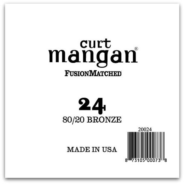 24 80/20 Bronze Single String