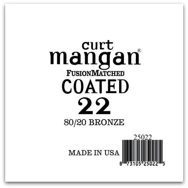22 80/20 Bronze COATED Single String