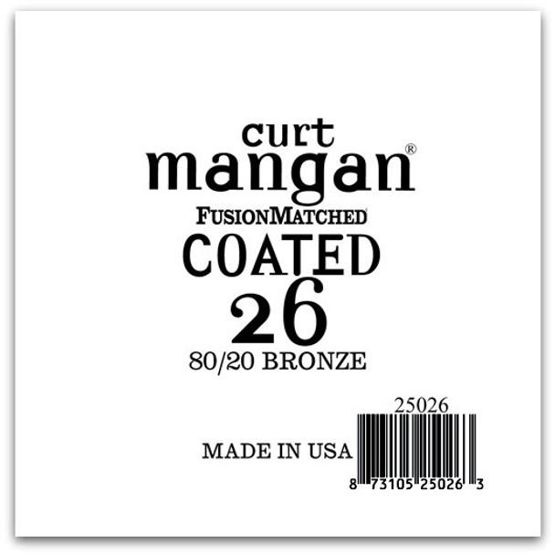 26 80/20 Bronze COATED Single String