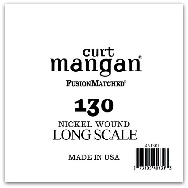 130 Nickel Bass Extra Long Single String