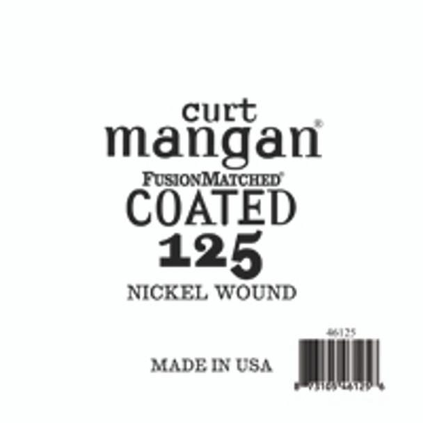 125 Nickel Bass COATED