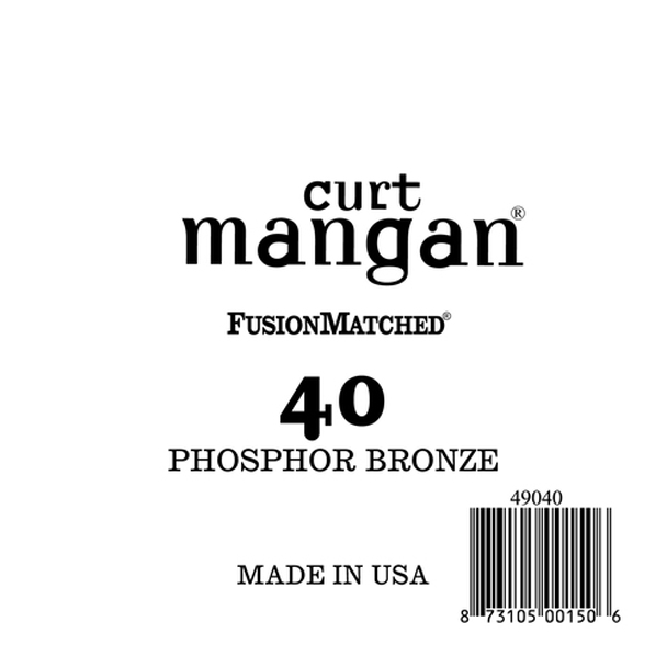 40 PhosPhor Bronze Bass Single String
