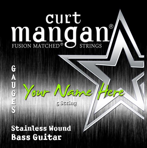 3 X Stainless 8-String Custom BASS GUITAR String Sets