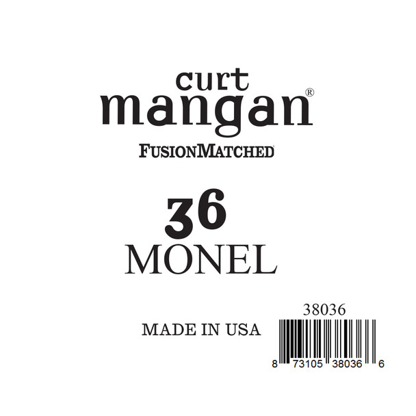 36 Monel Ball End Single String