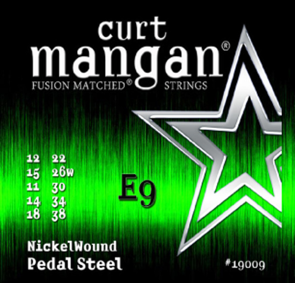 E9 Pedal Steel Nickel Wound Set