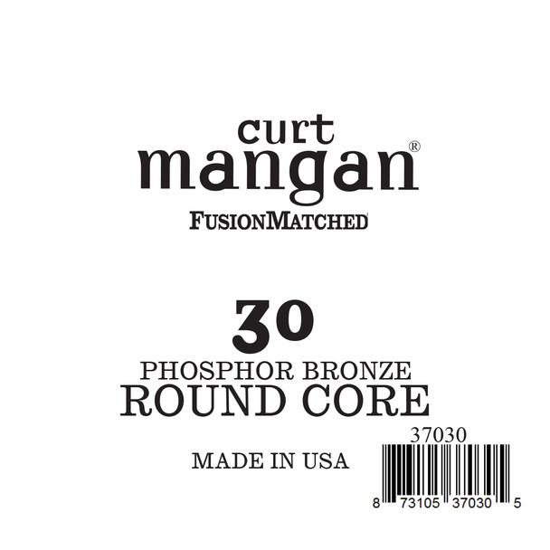 30 Phozphor Bronze ROUND CORE Single String