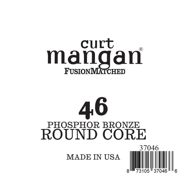 46 Phozphor Bronze ROUND CORE Single String