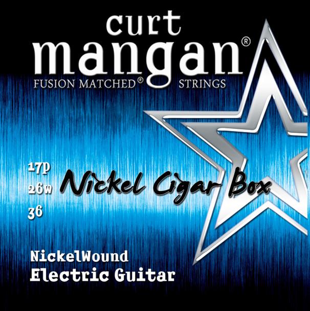 Nickel Cigar Box Set