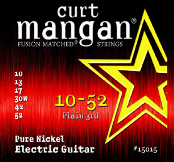 10-52 Pure Nickel Guitar Strings