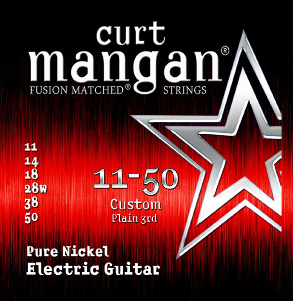 11-50 Pure Nickel Guitar Strings