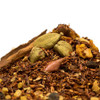 """Turmeric Ginger Rooibos is a full bodied non-caffeinated tea that should be called """"Super Tea"""" because this is packed to the brim with healthy ingredients that are high in antioxidants. Turmeric Ginger Rooibos exhibits natural, yet deep, sweet notes from the rooibos,  a warm bite from spices such as cloves and cinnamon and is quickly followed by the zest of ginger and citrus lemony notes of the cardamom at the back of the sip. Steep: 1-1.5 tsp, Boiling Water, 3-5 Minutes"""