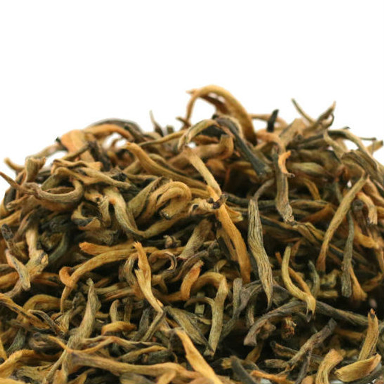 Yunnan Royal Gold is the finest black tea from China's Yunnan Province. Made from only golden tips, it produces a rich body and incredible complexity with exactly the right combination of spicy, fruity, and earthiness that is unmatched by any other black tea. The golden tips yield an infusion that is both sweet and bold. This is one of our finest offerings to date and is truly a spectacular tea.