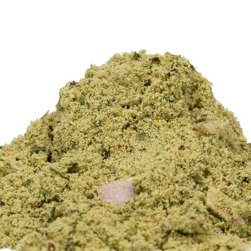 Easily add the exotic spice and sweet heat of Thai-style green curry to your recipes with our Thai Coconut Green Curry Powder. Vary the curry dish with how much liquid is added. Water substitutes for stock if desired. Sprinkle on pizza, add to vinaigrette dressings or to steamed vegetables. Use to season lentils and beans. Mix with salt to create a heat-infused finishing spice. Use in marinades for fish and poultry or add to mayonnaise to create a spicy condiment.