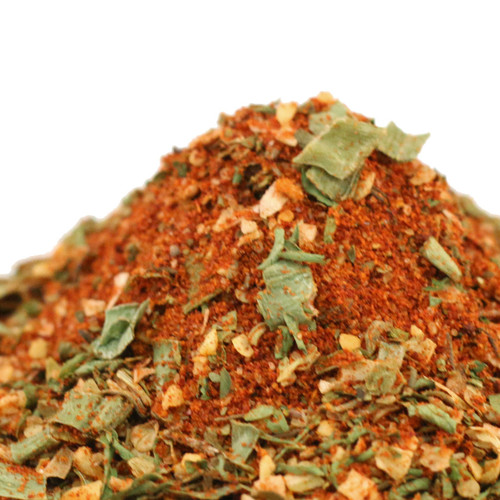 Rev up the flavor and take the boring out of your burgers. Mix 1-2 tablespoons seasoning per 1 pound ground beef or turkey for burgers before grilling or add 1-2 tablespoons to ground beef, turkey, pork or chicken for meatloaf. Also excellent in soups, and broth.