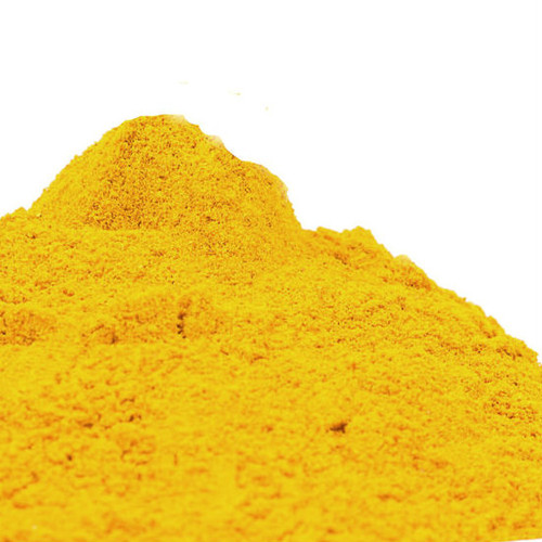 Ground Turmeric comes from the dried root of a plant in the ginger family. It provides a warm, aromatic flavor with a slightly bitter undertone. Add color to homemade mustard or curry spice blends. Matches well with beans, chicken, curry, lamb, lentils, paella, rice and shellfish. Adds a subtle flavor and vivid color to vegetable and rice dishes.