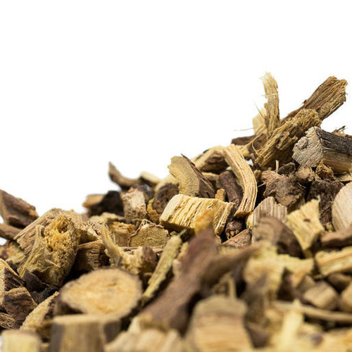 The Licorice Root we carry is commonly used by the do it yourself home tea blender and is cut into the perfect 1/4-inch size. Since this is root herb make sure you steep it for at least ten minutes or more.