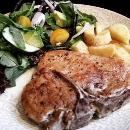 Moist and Delicious Brined Pork Chops