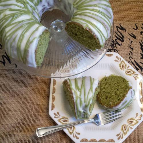 Matcha Green Tea Yogurt Cake