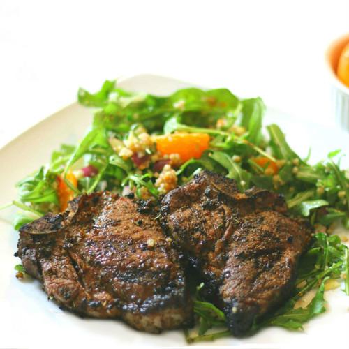 Mediterranean Lamb Chops