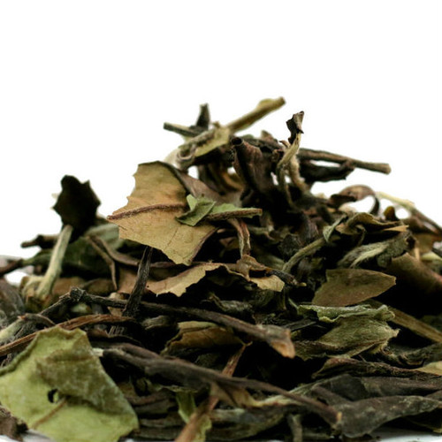 Shou Mei white tea comes primarily from the Fujian province in China and is very lightly processed with sunlight and low temperatures. A standard grade white tea, Shou Mei has a sweet, floral aroma and mild, smooth, lightly sweet, pale yellow liquor.