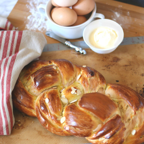 Braided Easter Sweet Bread