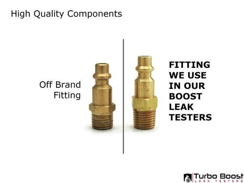 "Milton M-type Compressor Fitting - 1/4"" NPT Thread"