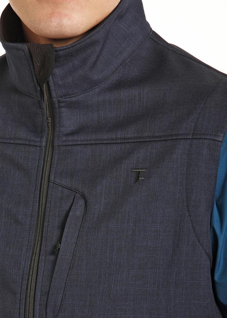 Men's Tuf Cooper Vest, Navy Blue