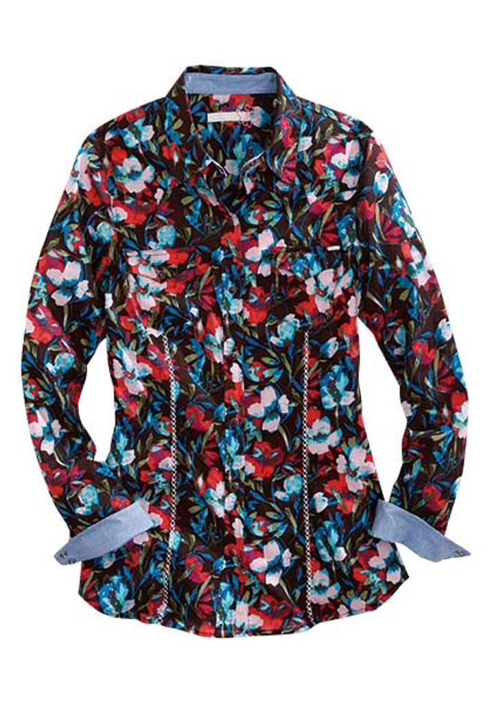Women's Tin Haul L/S, Floral Print