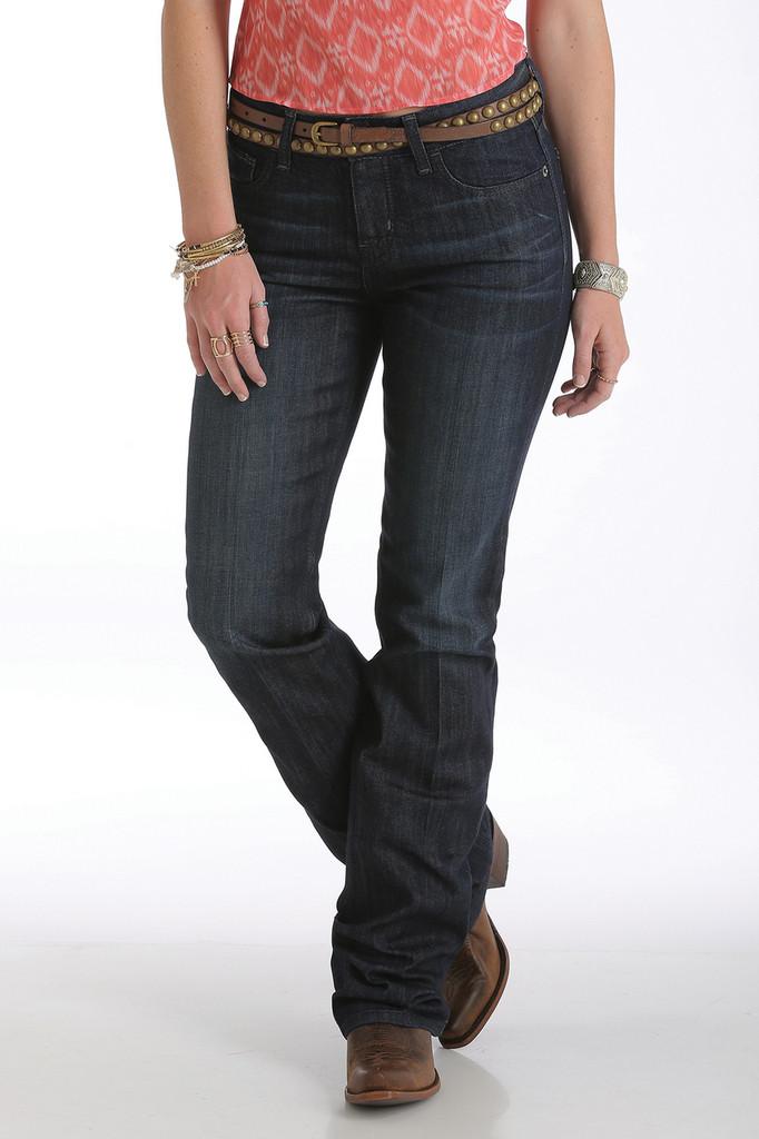 "Women's Cruel Girl Jeans, ""Hannah"" Dark Wash, Boot Cut"