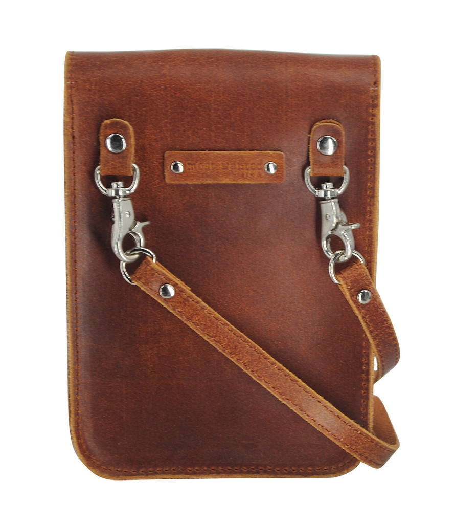 Most Wanted USA Crossbody, Brown with Cactus Flap