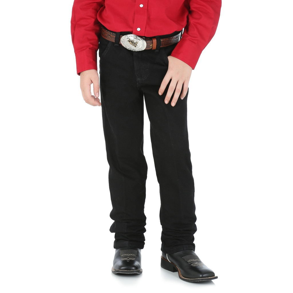 Boys Wrangler Jeans, 13MWZ Originals, Black